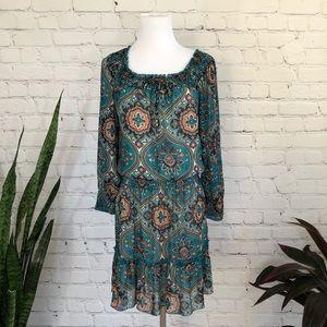 Xhilaration Bohemian Sheer Dress
